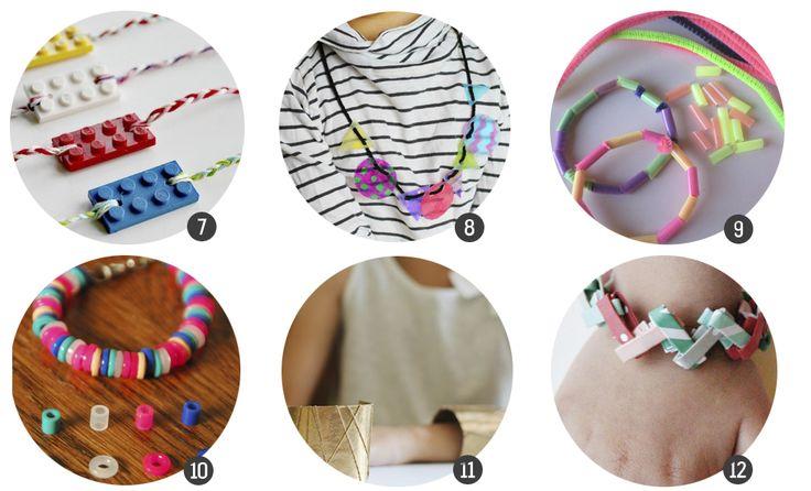Manualidades para niños: 18 DIY de collares y pulseras para hacer ellos mismos