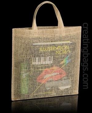 Modelo cooper una estupenda bolsas ecologica de tela. Con su rejilla te permitirá mostrar el contenido. Original, natural y práctica. Uno de nuestros modelos más asequibles