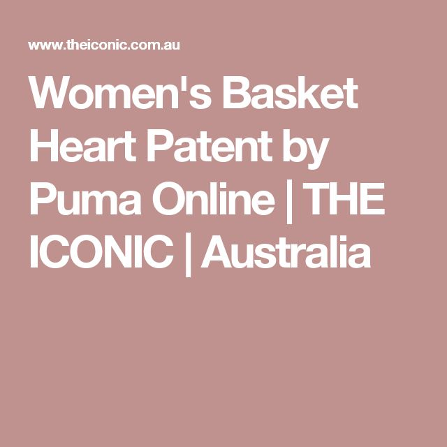Women's Basket Heart Patent by Puma Online | THE ICONIC | Australia