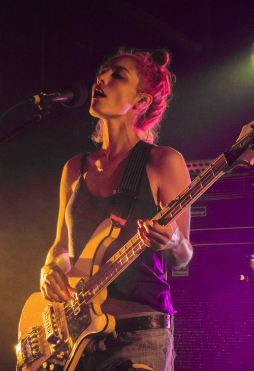 Warpaint @ the Black Cat, Washington, DC, 3/24/2014 ...