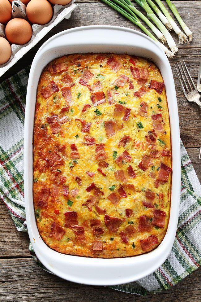 Bacon, Potato, and Egg Casserole Recipe