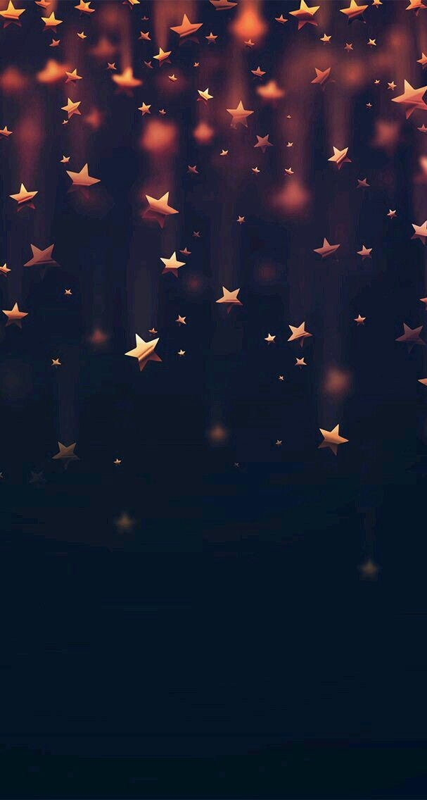 fondo de estrellas doradas para personas alegres,amables... etc