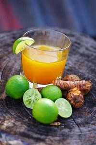 If you're tasting jamu for the first time, try the refreshing kunyit asem.