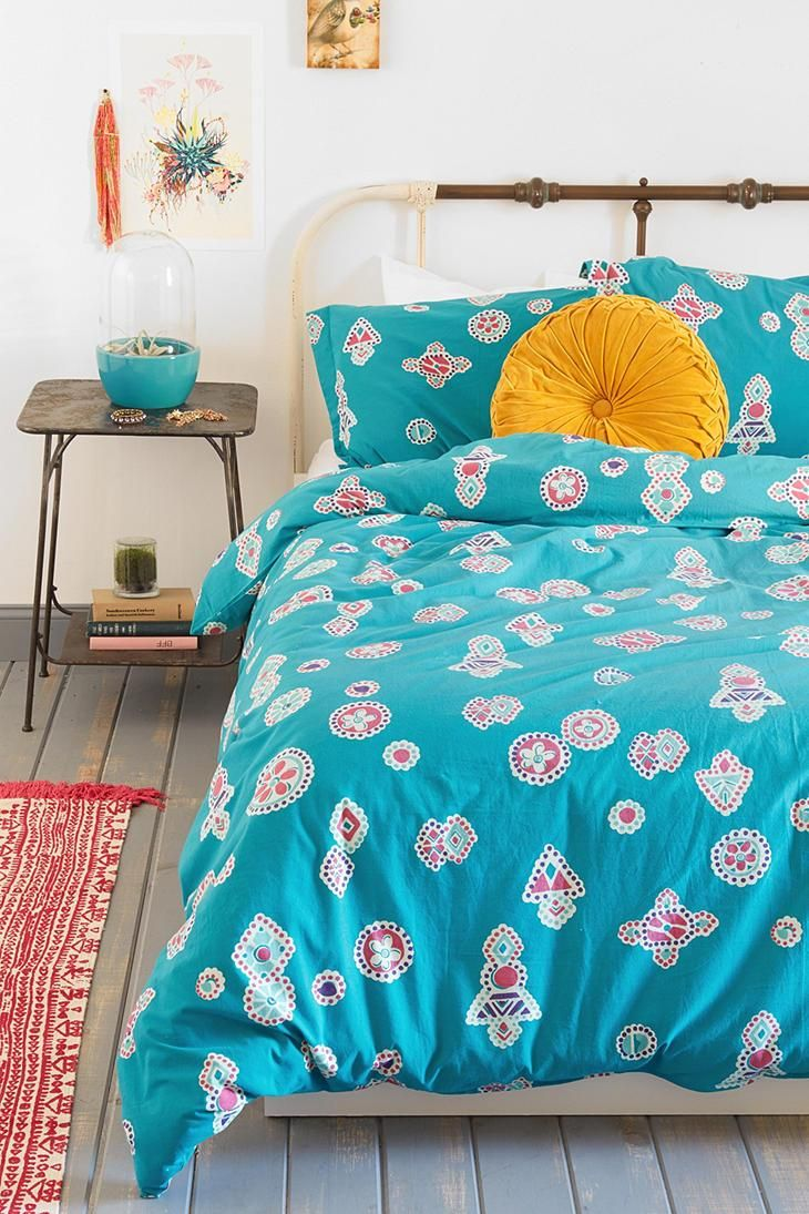Magical Thinking Dotted Medallion Duvet Cover  #urbanoutfitters