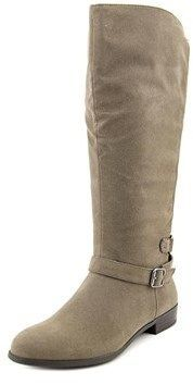 Style&Co. Style & Co Faee Wide Calf Women Round Toe Synthetic Gray Mid Calf Boot. #midcalfboots