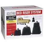 Extra Tall Bed Risers - Adjustable Height
