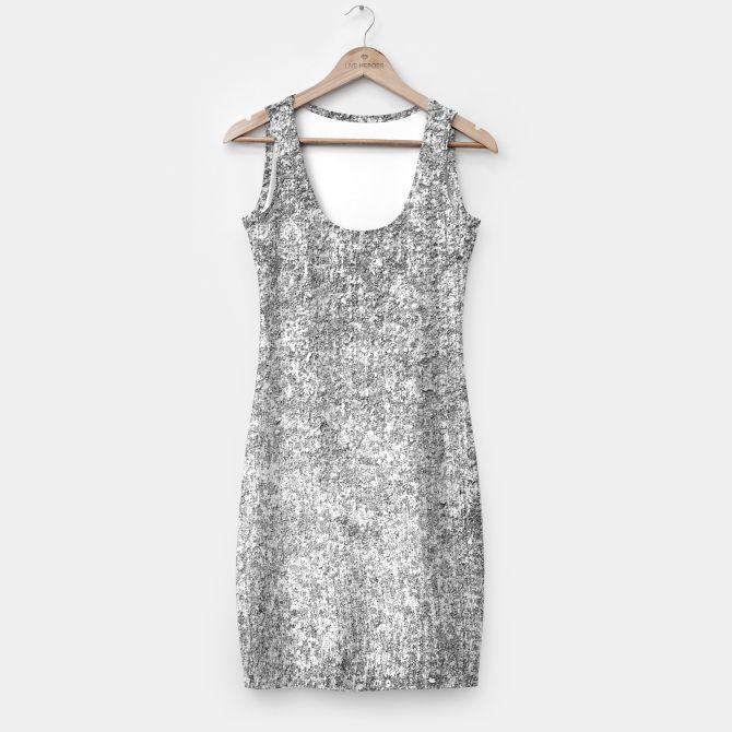 textured simple dress