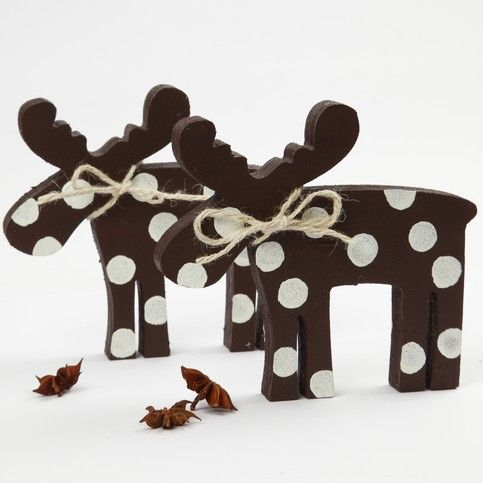 12863 A Moose with 3D Snow Effect