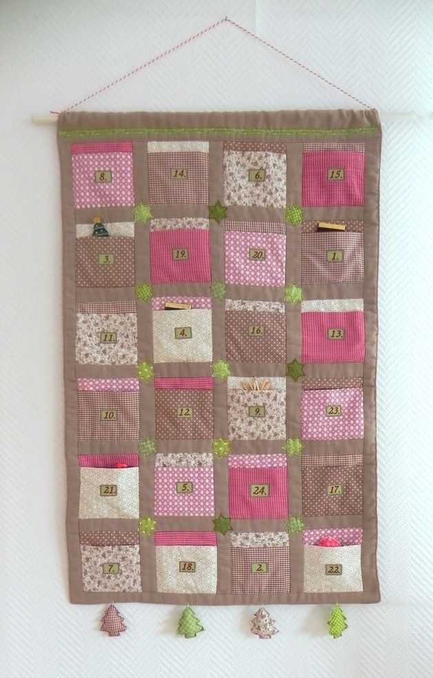 Adventskalender Patchwork
