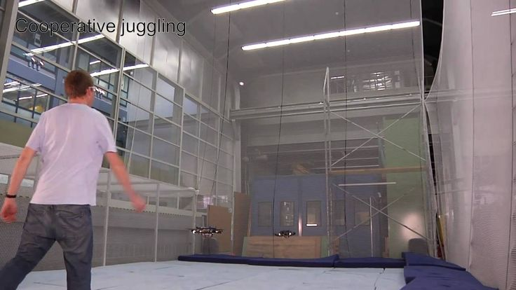 Quadrocopter Ball Juggling, ETH Zurich