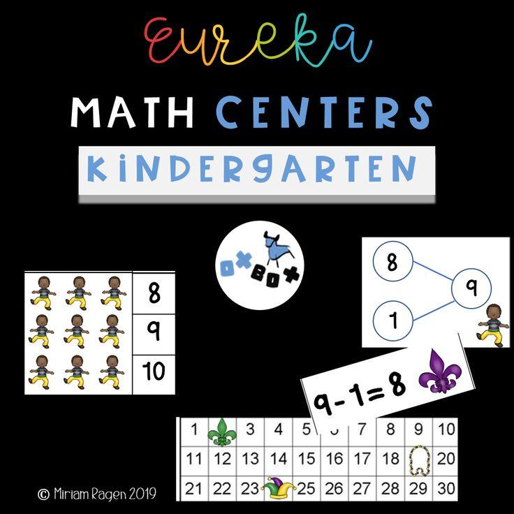 Eureka Math centers and Eureka Math activities for
