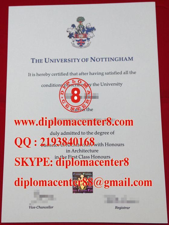 buy University of Nottingham degree. www.diplomacenter8.com skype: diplomacenter8
