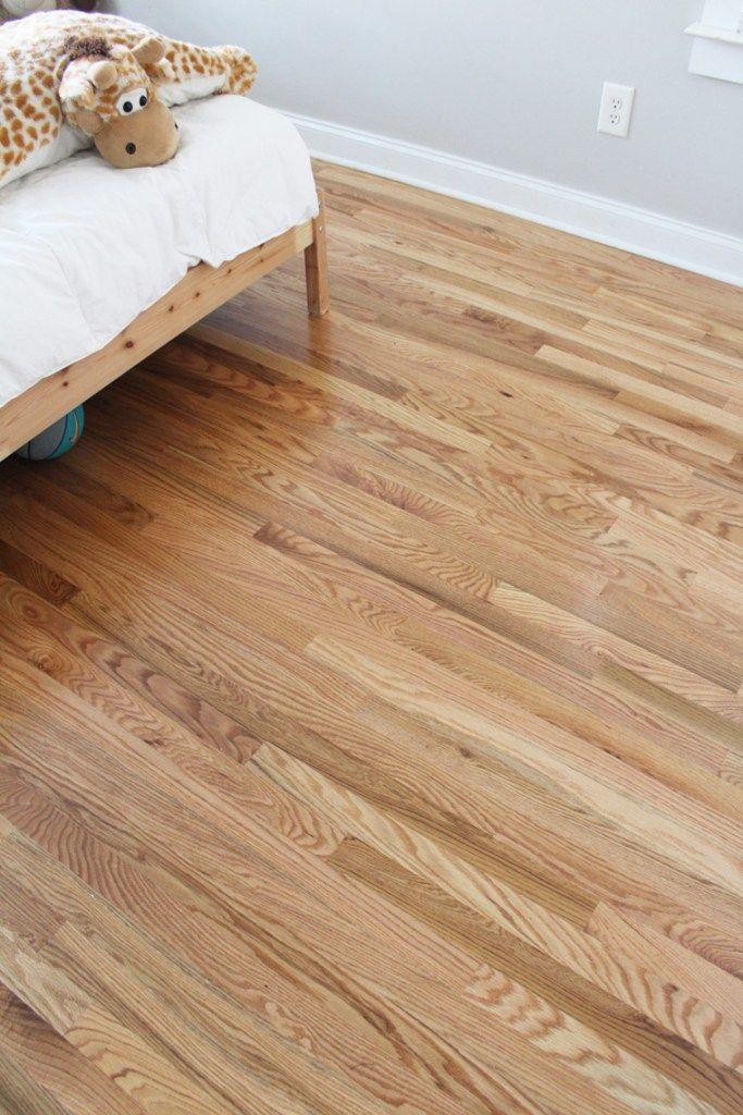 Before After New Refinished Hardwood Floors Red Oak Hardwood Floors Flooring Wood Floor Colors
