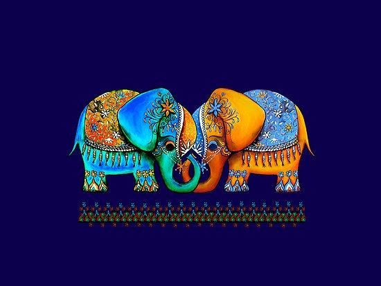 Littlest Elephant Love Links by Karin Taylor
