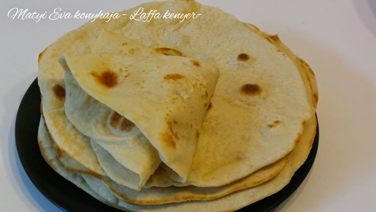Matyi Eva: Laffa,arab kenyer.