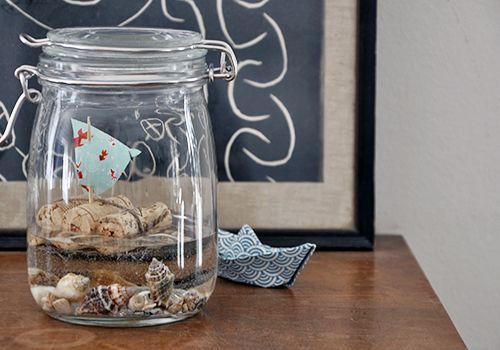 urlaub im glas selbermachen pinterest jar. Black Bedroom Furniture Sets. Home Design Ideas