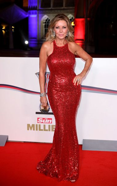 Carol Vorderman Photos Photos - Carol Vorderman attends The Sun Military Awards at The Guildhall on December 14, 2016 in London, England. - The Sun Military Awards - Red Carpet Arrivals