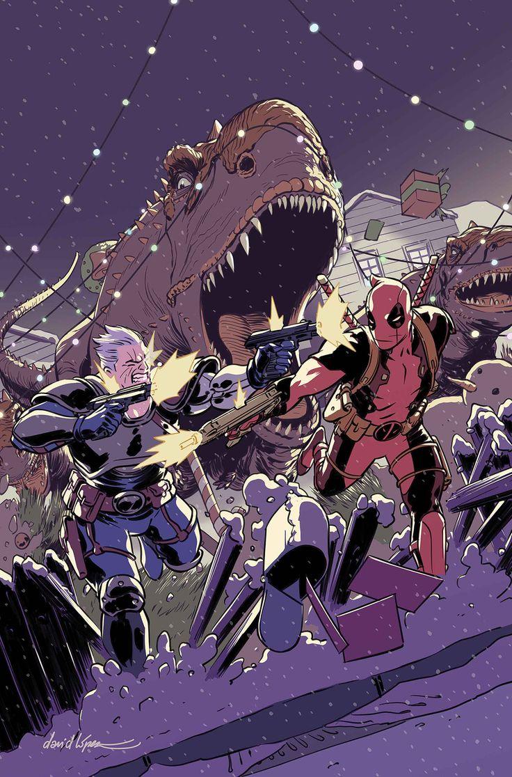 DESPICABLE DEADPOOL #289 LEGSí - Deadpool todavía está en una misión para golpear a su mejor amigo Cable ... pero eso no significa que no tiene tiempo para luchar algunos DINOSAURIOS. ¿Porque quién no querría golpear a un dinosaurio