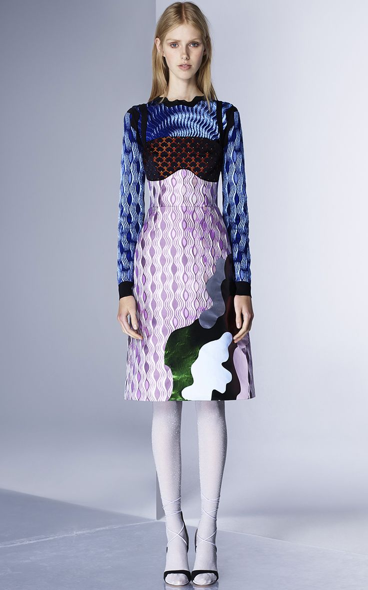 See all the runway and model photos from the Mary Katrantzou Pre-Fall 2016  collection.