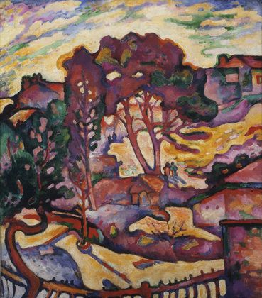 MoMA | The Collection | Georges Braque. The Large Trees. L'Estaque 1906-07