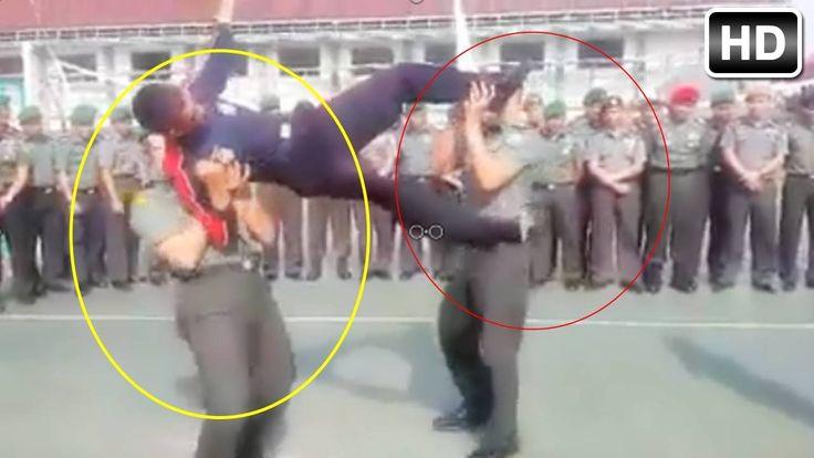 Gila !! .. TNI Dengan Tenaga Dalam Diluar Nalar akal Sehat -- Bikin Hobo...
