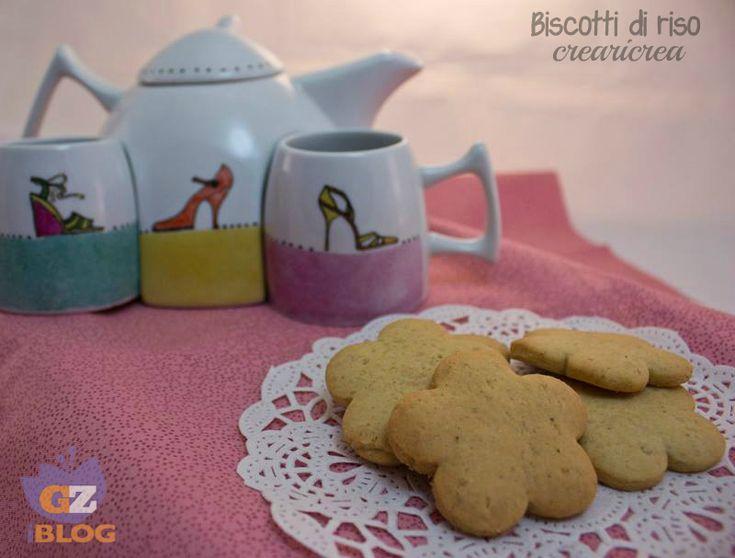 BISCOTTI DI RISO - ricetta biscotti