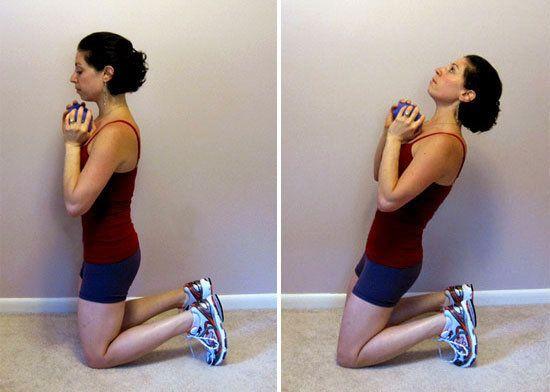 Non crunch ab workout