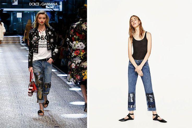 Dolce & Gabbana Vs. Zara  http://stylelovely.com/entutiendamecole/2017/03/denim-zara-dolce-gabbana