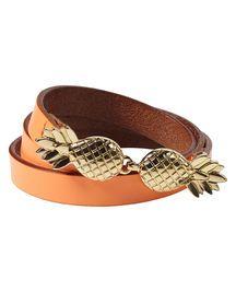 Cinturón de piel   Cinturones   Ropa para mujer en Scotch & Soda