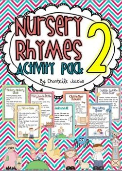 Nursery Rhymes Activity Packet - 2nd Edition   - includes 57 pages of posters and student activities.
