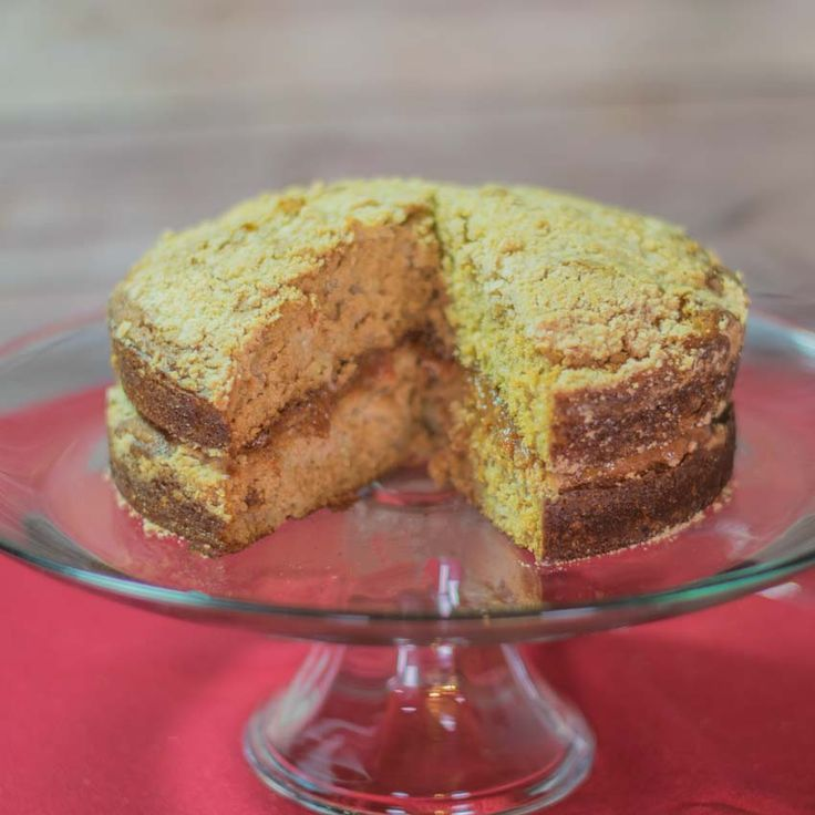 This rhubarb cake recipe is one of our favorite desserts for how it combines tart rhubarb and a touch of brown sugar to create a light airy cake with a delicious rhubarb filling.