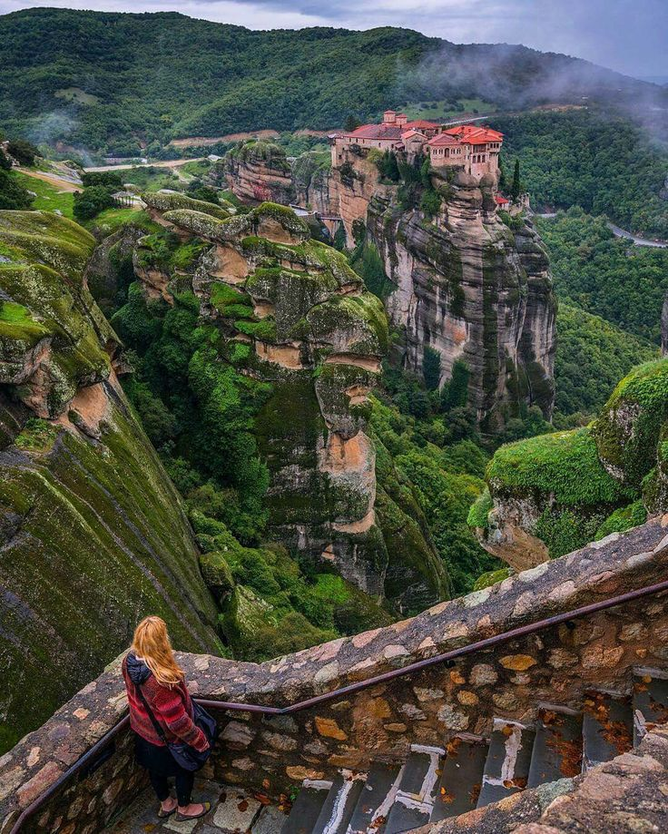 Meteora Monasteries, Central Greece