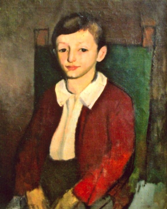 Child Portrait,   Corneliu Baba