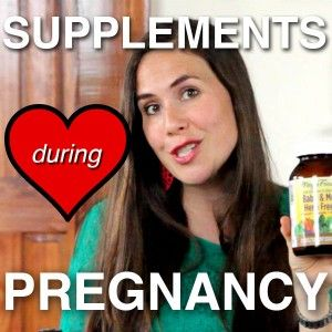 Great suggestion on supplements to take, all the time, also when pregnant.