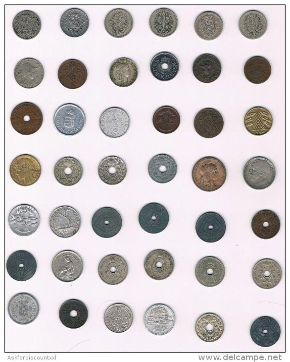 Super lot de 42 pièces anciennes - old coins - oude munten - Delcampe.be