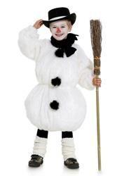 Как сшить костюм снеговика в домашних условиях