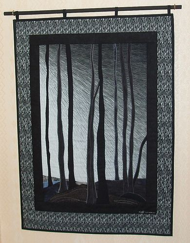 Winter in the woods. J.Segna