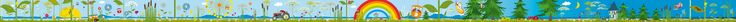Tapete: Seilbahn Bordüre - Die TapetenAgentur