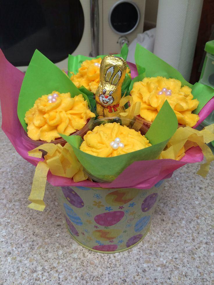 Easter Cupcake Bucket!