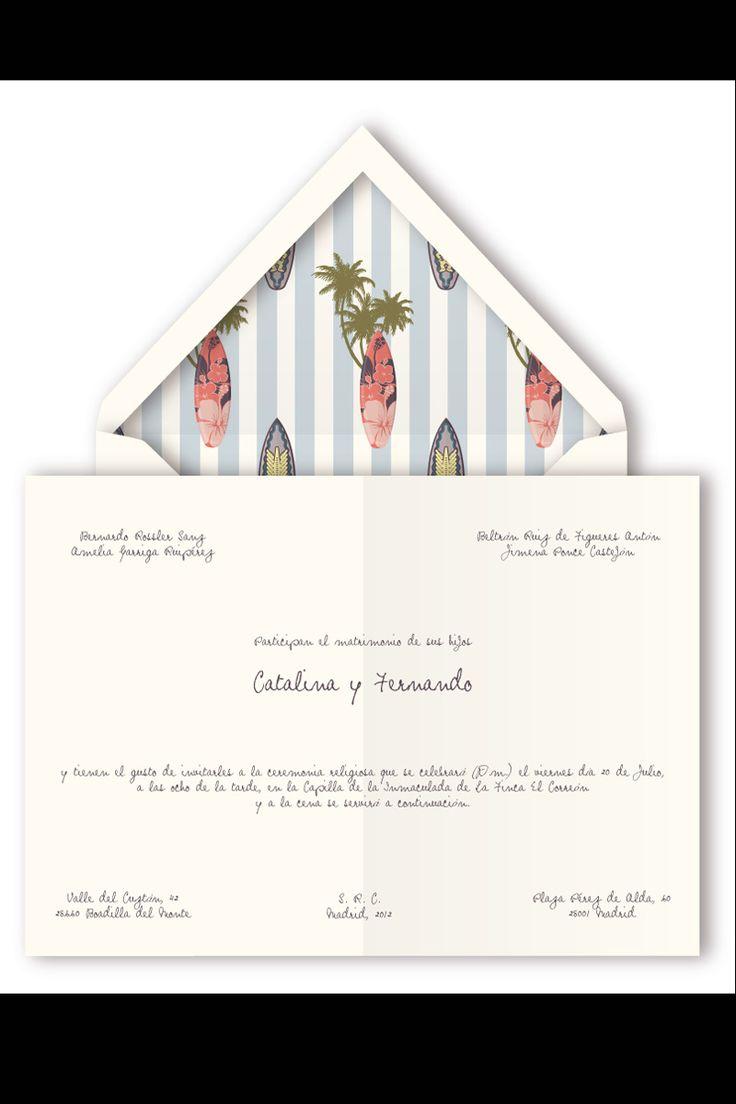 Invitaciones de Querida Valentina