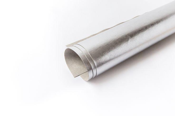 arkusz washpapa jasne srebro laminat 100/73
