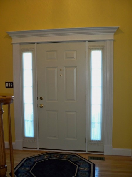 22 best images about front door repair on pinterest for Over door decorative molding