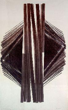 BONOMI, Maria Título:Tragédia Cósmica Descrição:xilogravura em cores impressa s/ papel,