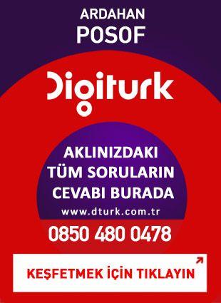 Digiturk Posof - Servis Satış Noktası - 0478 Ardahan