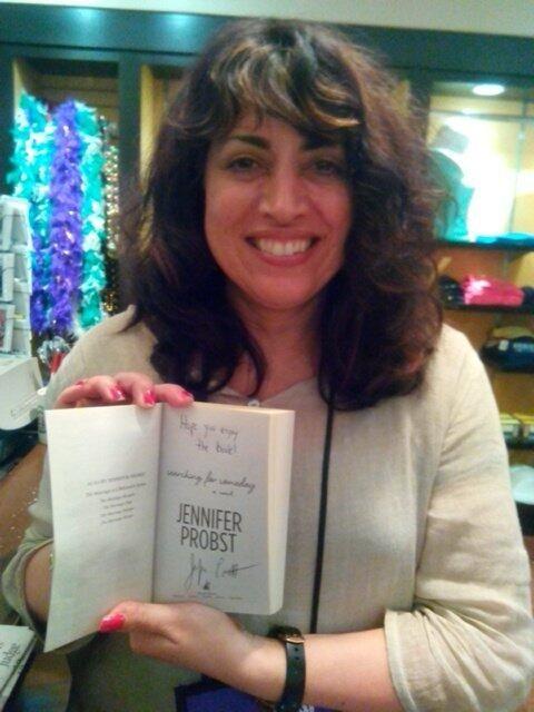 .@Jennifer Probst *JUST* signed last copy of SEARCHING FOR SOMEDAY at #RT14 @Liz Marriott hotel bkshop next 2 Starbucks! pic.twitter.com/aEwr7VXAZu