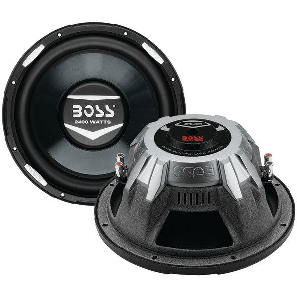 "BOSS AUDIO AR12D Armor Series Dual Voice Coil Subwoofer (12"", 2,400 Watts)"