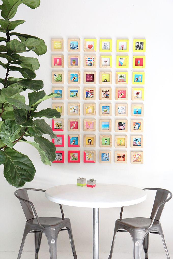 MY DIY | Tiny Picture Gallery Wall | I SPY DIY