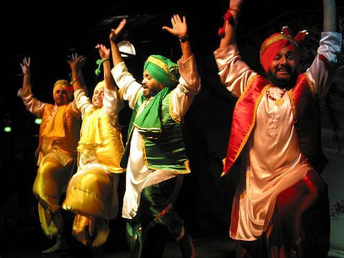 Bhangra Dancing Pic