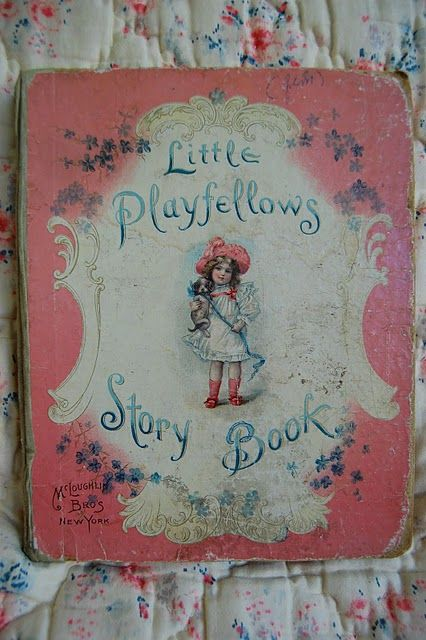 Antique Story Book