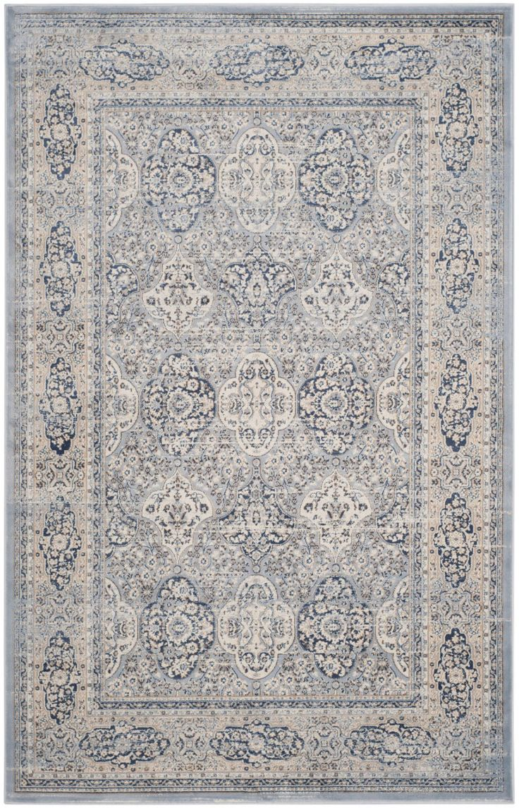 What's old is new again in Safavieh's Vintage Collection of rugs inspired by the trend to recycling old carpets and over-dyeing them in brilliant colors to camouflage stains and flaws. Each rug is power loomed in Belgium of 100 percent organic...